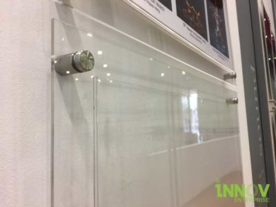 Acrylic Pocket Frames with Spacers