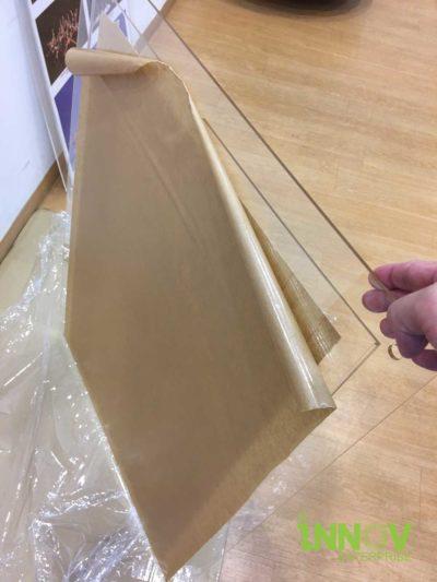 Acrylic Pocket Frames Installation
