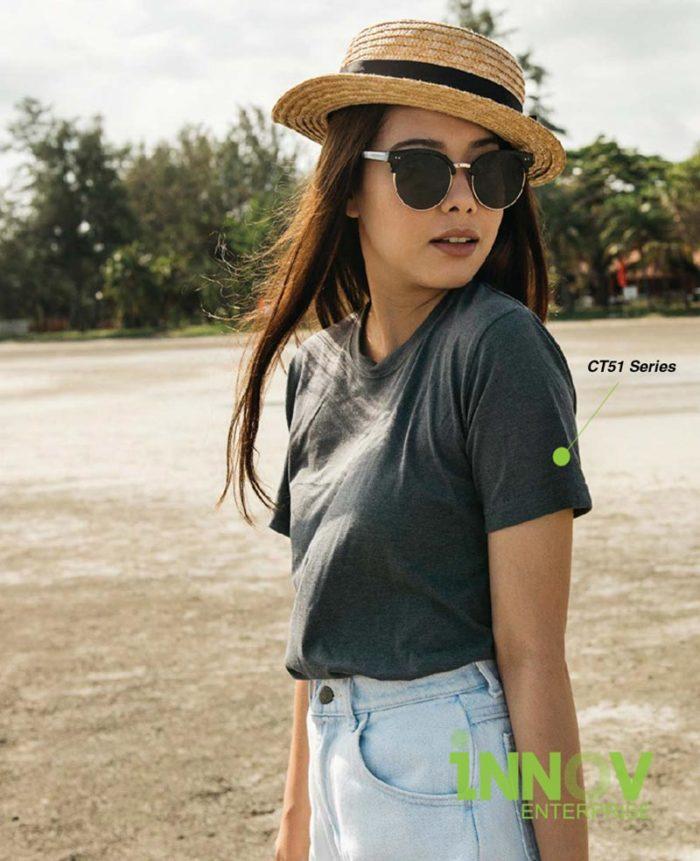 100% Comfy Cotton T Shirt Model