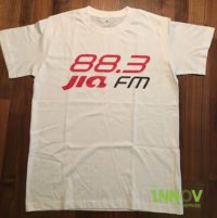 2C Silkscreen Print on Cotton T Shirt
