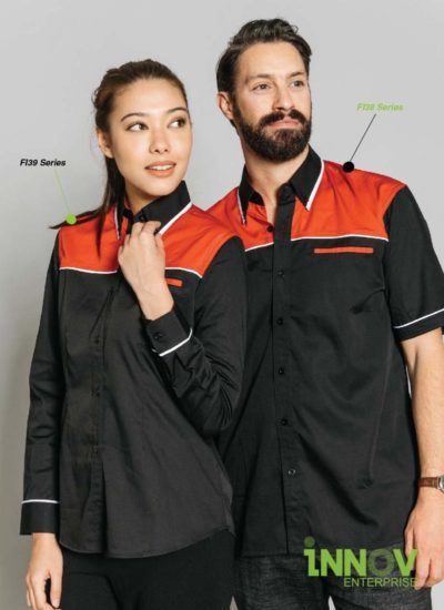F1 Uniform Workwear shirts