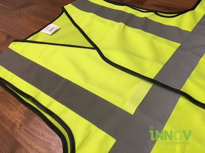 SV Yellow Safety Vest with velcro