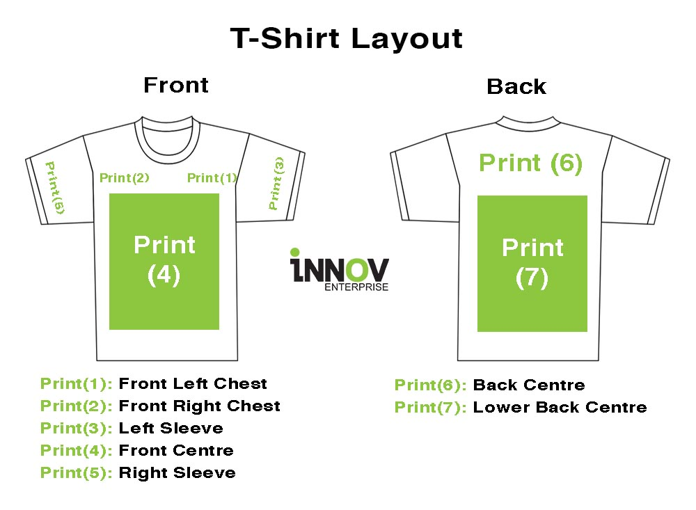 T-Shirt Printing Singapore | Personalized T-Shirts From $6.80/piece
